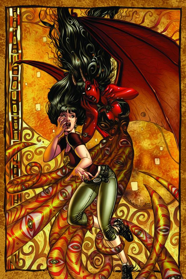 Purgatori #4 (Rare Chin Virgin Art Cover)
