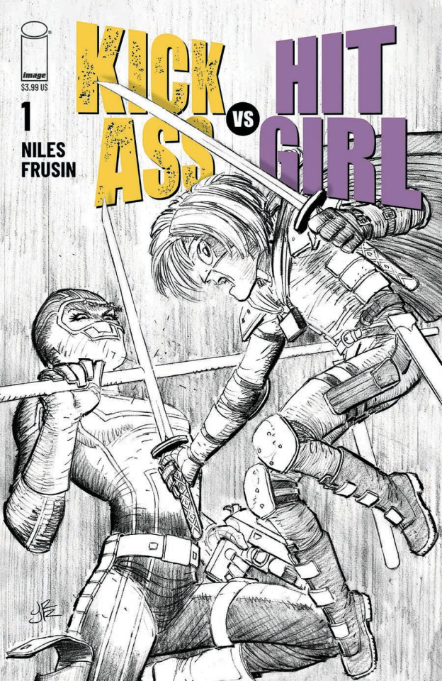 Kick-Ass vs. Hit-Girl #1 (Romita Jr Cover)