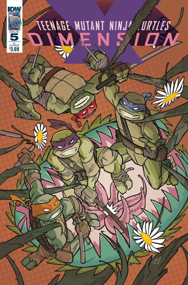 Teenage Mutant Ninja Turtles: Dimension X #5 (Rousseau Cover)