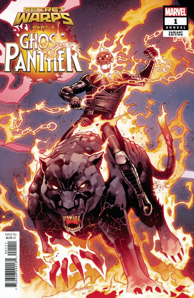 Secret Warps: Ghost Panther Annual #1 (Pacheco Connecting Cover)