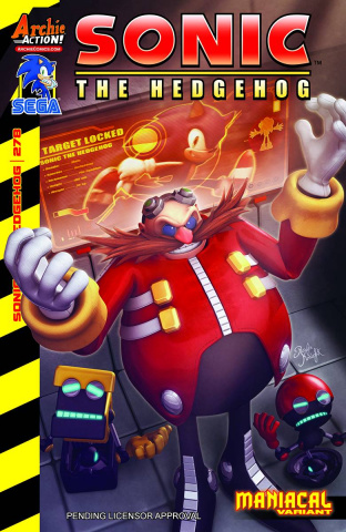 Sonic the Hedgehog #278 (Knight Cover)