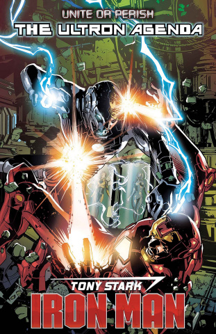 Tony Stark: Iron Man #16 (Deodato Cover)