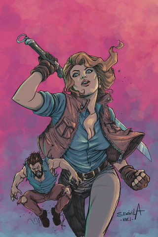 Death to the Army of Darkness #3 (Davila Virgin Cover)