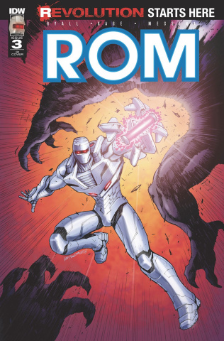 ROM #3 (10 Copy Cover)