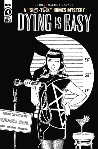 Dying Is Easy #4 (10 Copy B&W Rodriguez Cover)