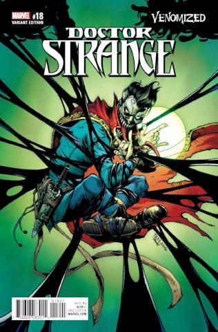 Doctor Strange #18 (Fowler Venomized Cover)