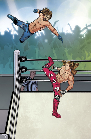 WWE #1 (Unlock Royal Rumble Connecting Cover)