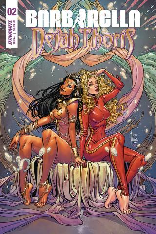 Barbarella / Dejah Thoris #2 (Braga Cover)