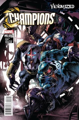 Champions #6 (Deodato Venomized Cover)