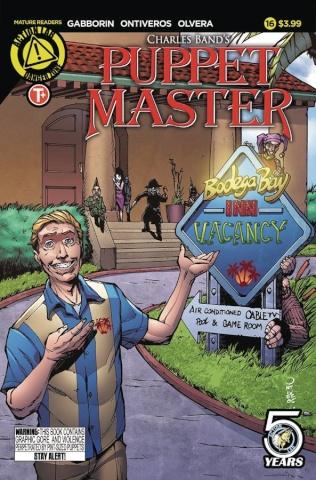 Puppet Master #16 (Da Sacco Cover)