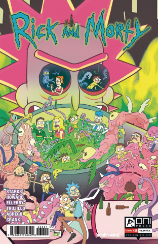 Rick and Morty #38 (Scott Cover)