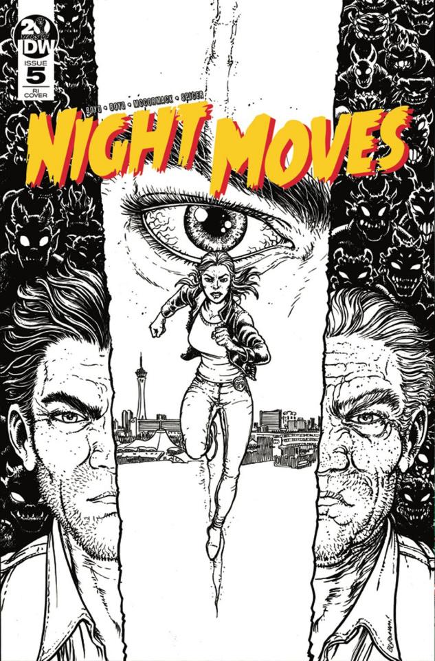 Night Moves #5 (10 Copy Burnham Cover)