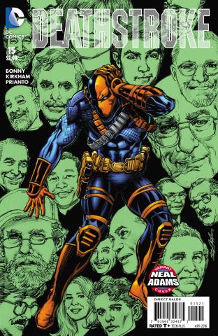 Deathstroke #15 (Neal Adams Cover)