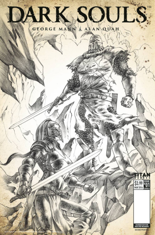 Dark Souls #1 (2nd Printing)