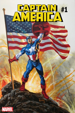 Captain America #1 (Jusko Cover)