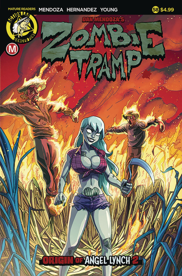 Zombie Tramp #58 (Young Cover)