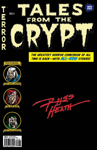 Tales From the Crypt #1 (Heath Cover)