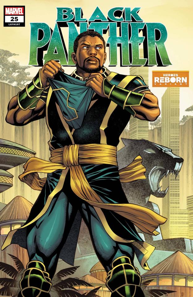Black Panther #25: Reborn