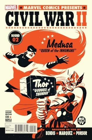 Civil War II #2 (Michael Cho Cover)