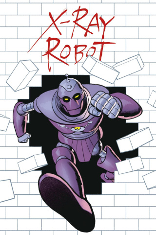 X-Ray Robot #3 (Smallwood Cover)
