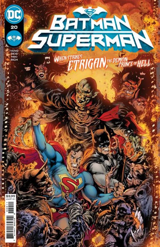 Batman / Superman #20 (Ivan Reis & Danny Miki Cover)