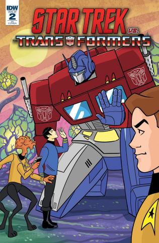 Star Trek vs. The Transformers #2 (10 Copy Charm Cover)