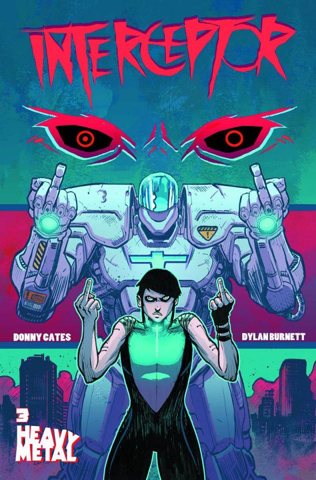 Interceptor #3 (Burnett Cover)