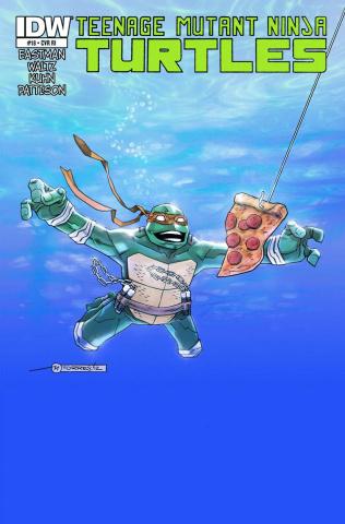 Teenage Mutant Ninja Turtles #18 (Torres Cover)