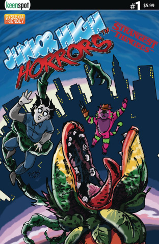 Junior High Horrors: Strangest Thingees #1 (Little Shop Cover)