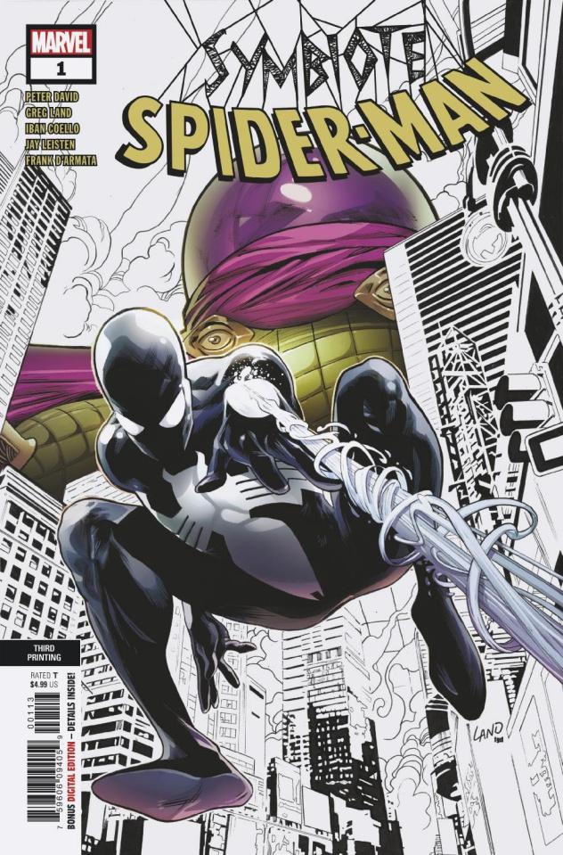 Symbiote Spider-Man #1 (Land 3rd Printing)