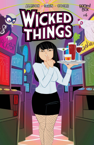 Wicked Things #6 (Final Issue Cover)