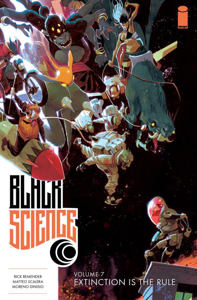 Black Science Vol. 7: Extinction is the Rule