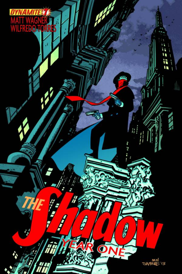 The Shadow: Year One #7 (Samnee Cover)