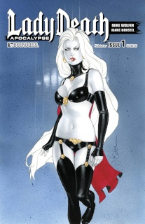 Lady Death: Apocalypse #1 (Kickstarter Cover)