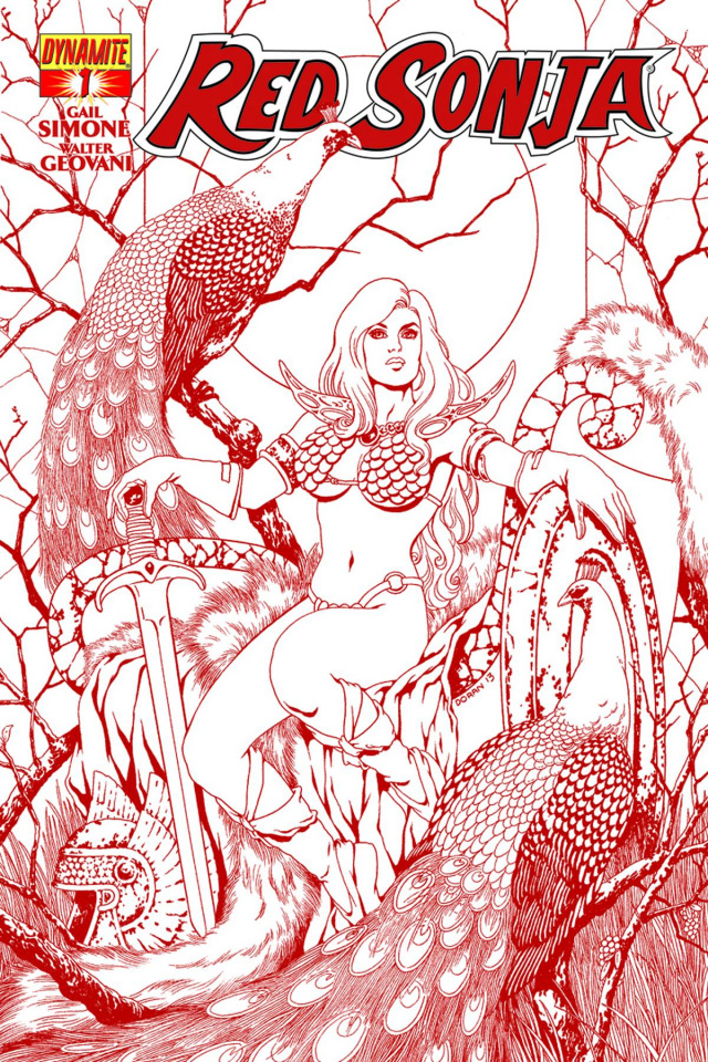 Red Sonja #1 (High End Colleen Doran Red Ultra Limited Cover)