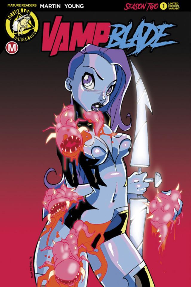 Vampblade, Season Two #1 (Mendoza Cover)