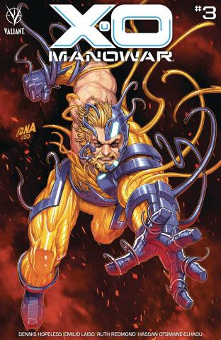 X-O Manowar #3 (Nakayama Cover)