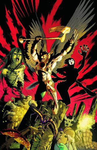 The Savage Hawkman #18