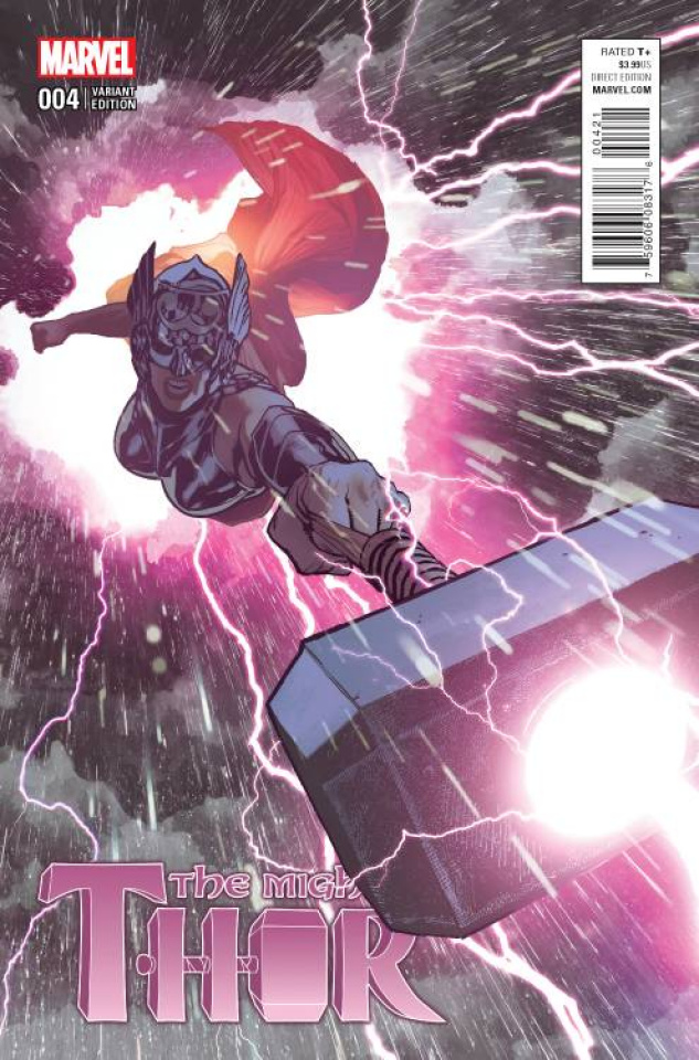 The Mighty Thor #4 (Hughes Cover)