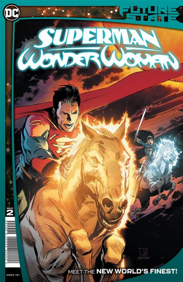 Future State: Superman / Wonder Woman #2 (Lee Weeks Cover)