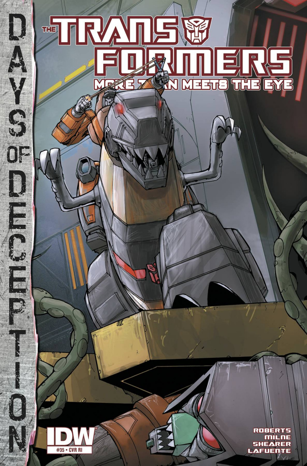 The Transformers: More Than Meets the Eye #35 (10 Copy Cover)