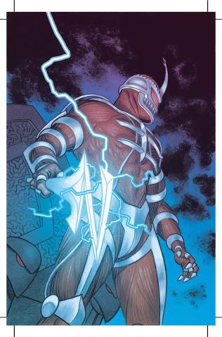 Mighty Morphin Power Rangers #5 (Unlock Villian Cover)
