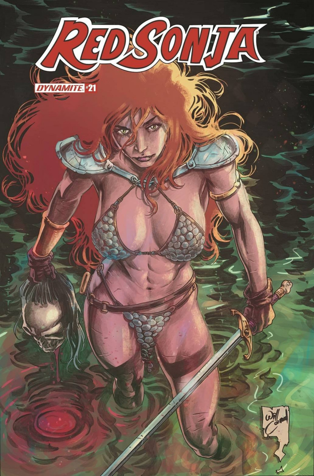 Red Sonja #21 (Conrad Cover)