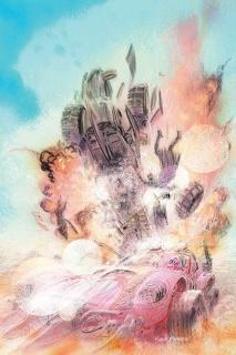 Wacky Raceland #2 (Variant Cover)