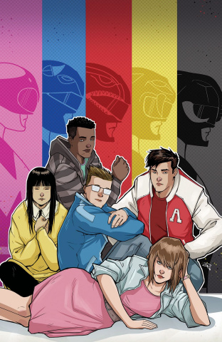 Mighty Morphin' Power Rangers #12 (50 Copy Medri Cover)