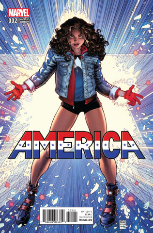 America #2 (Art Adams Cover)
