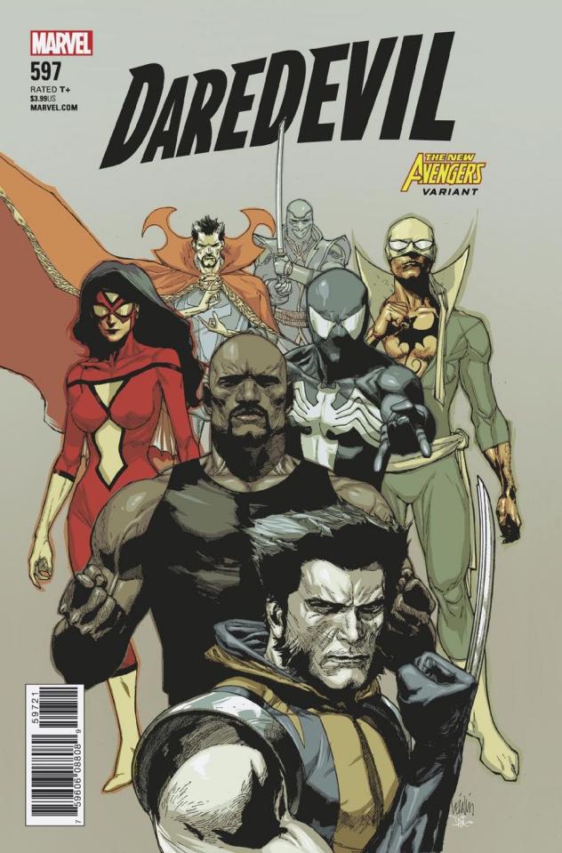 Daredevil #597 (Yu Avengers Cover)
