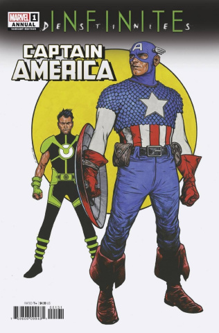 Captain America Annual #1 (Charest Cover)