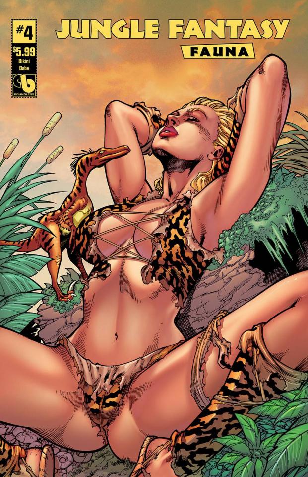 Jungle Fantasy: Fauna #4 (Bikini Babe Cover)