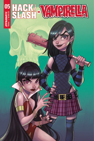 Hack/Slash vs. Vampirella #5 (Zullo Cover)